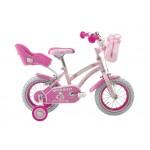 """Rowerek dziecięcy HOLLYWOOD PINK 12, 16"""" różowy * HELLO KITTY"""