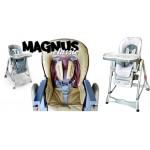 Krzesełko wysokie do karmienia Magnus *Caretero